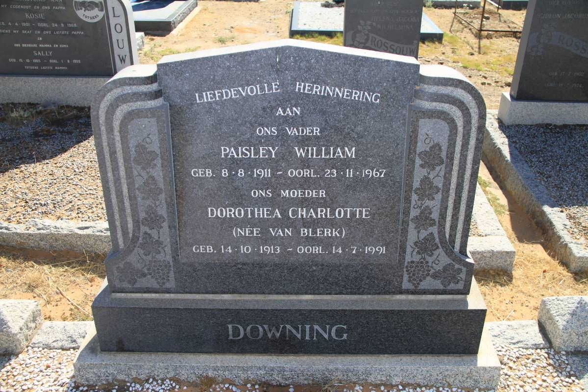 Dorothea Charlotte Downing 1913-1991