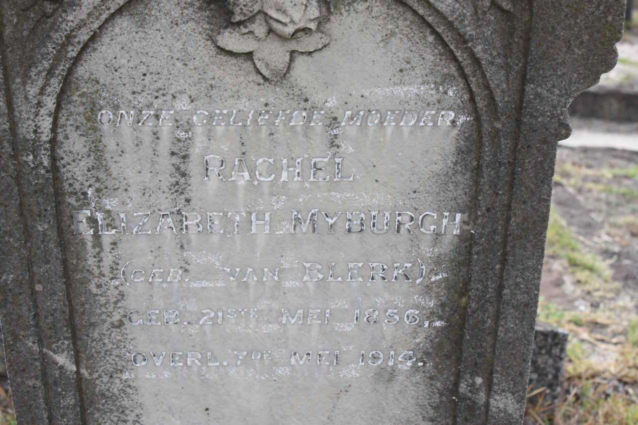 Elizabeth Myburgh 1856-1914