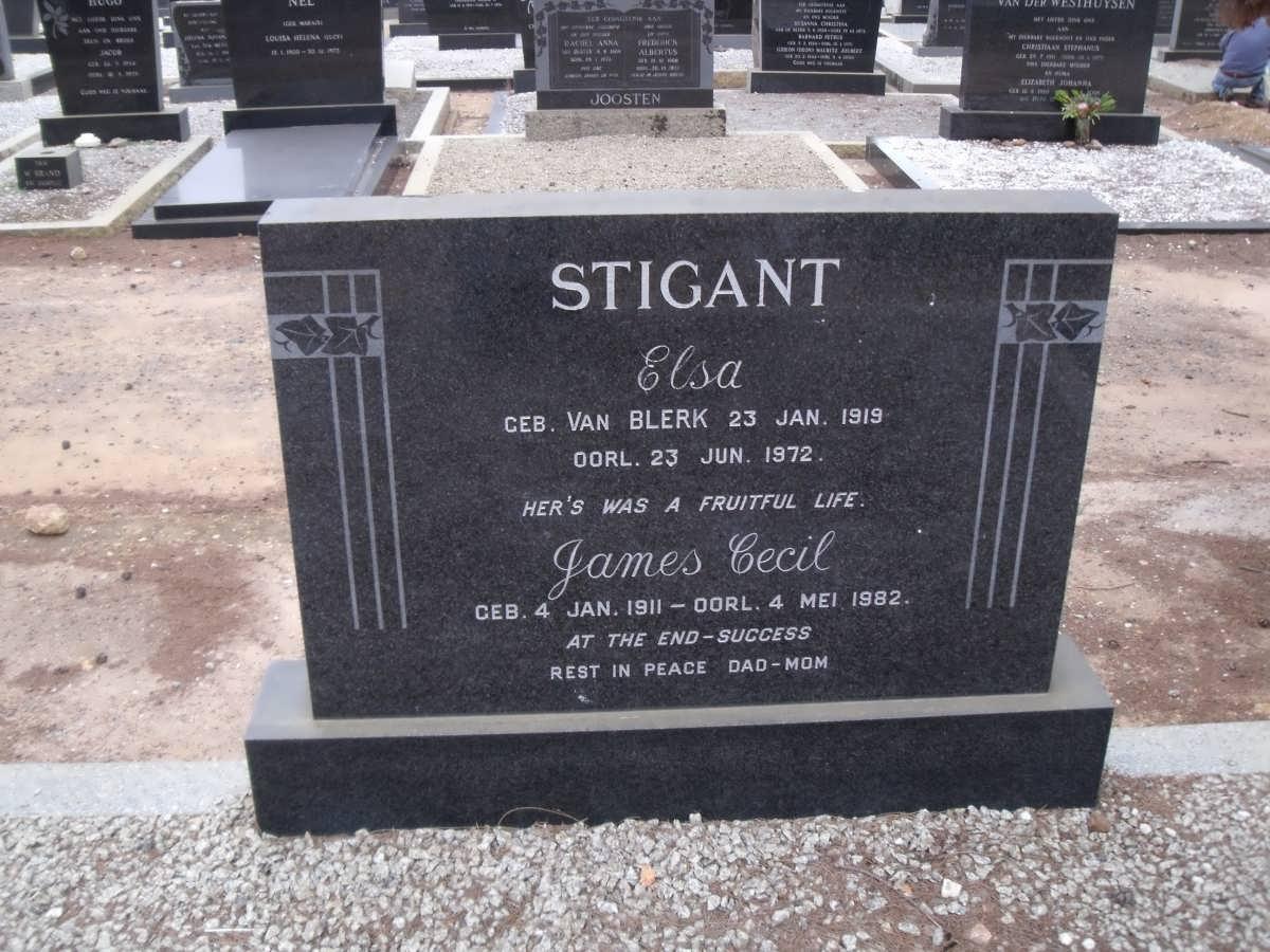 Elsa Stigant 1919-1972