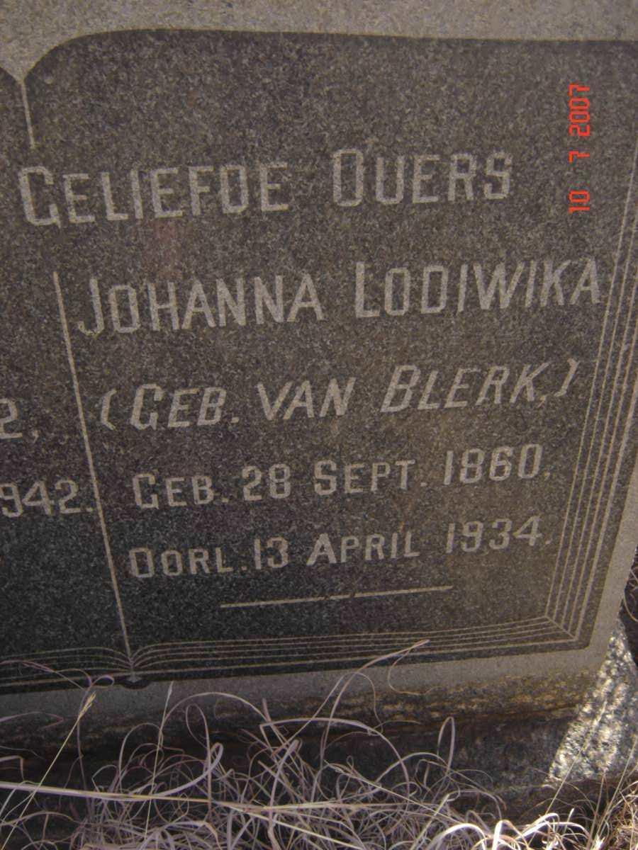 Johanna Lodiwika Viljoen 1860-1934