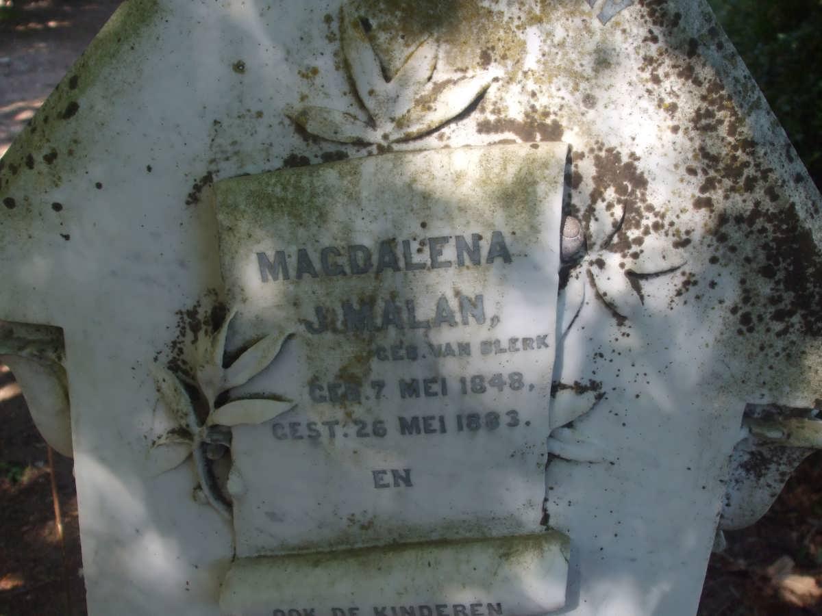 Magdalena J Malan 1848-1883