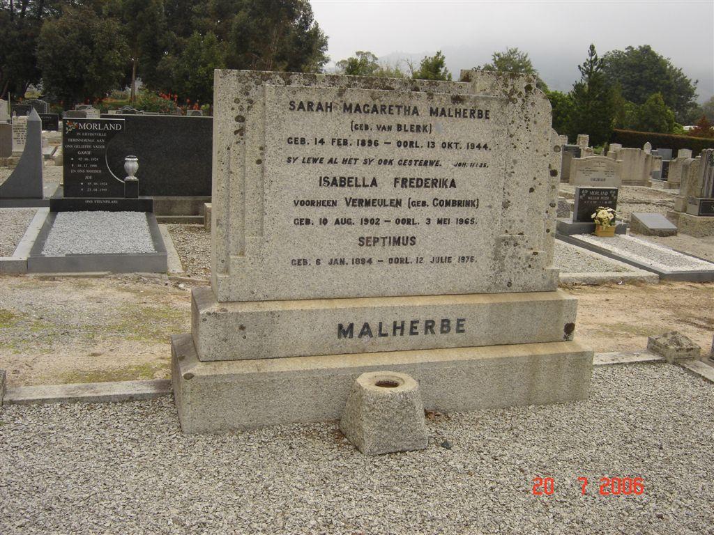 Sarah Magaretha Malherbe 1896-1944
